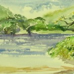 Touw River Watercolour